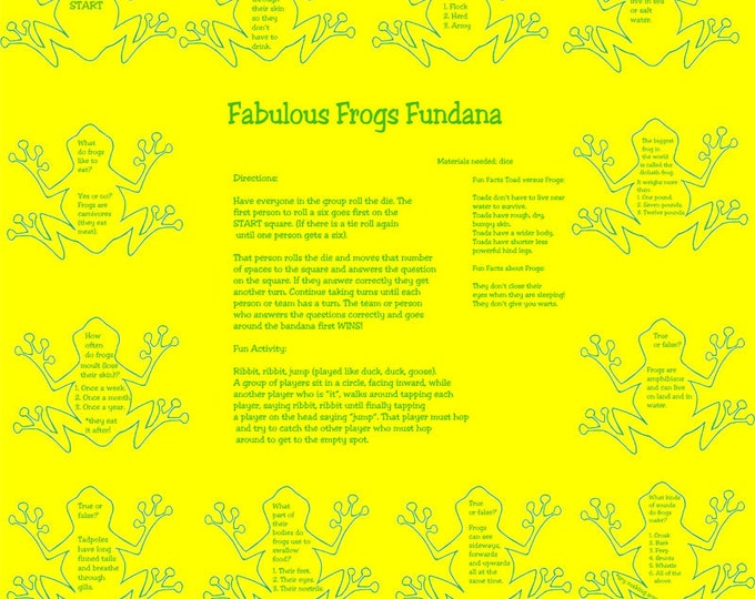 Frogs! Discover all sorts of fun facts about Frogs with our Fabulous Frogs Game! Kids, Scouts, Parents and Grandparents will enjoy this game
