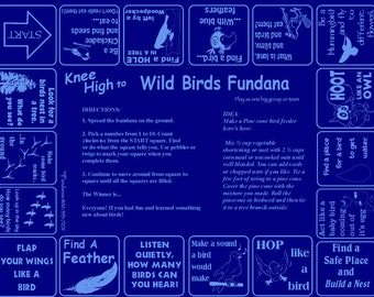 New! Knee High to Wild Birds! A fun, scavenger hunt game for kids 3-6 to discover, learn all the great things about birds!