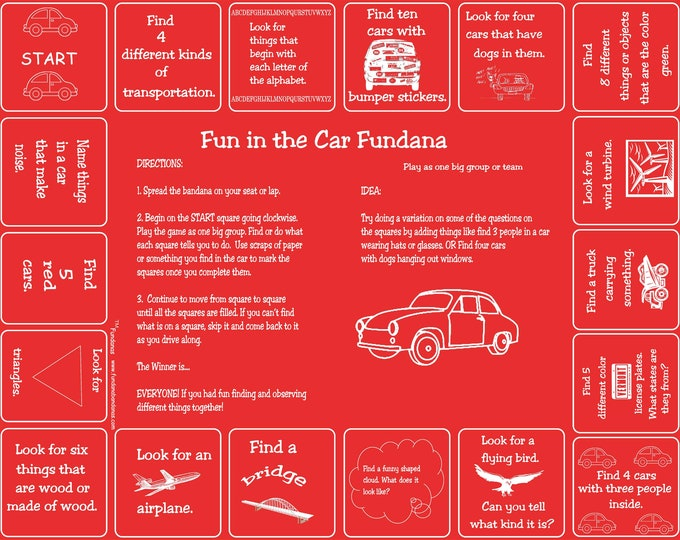 Are We There Yet? Going on Vacation? Play our Fun in the Car Fundana to make your trip seem faster! A fun, interactive game for families!