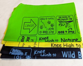 3 different Fundana Scavenger hunts for Kids ages 3-6! Value Pack! Easy, fun introduction to nature! Knee High Nature, Bugs, Birds!