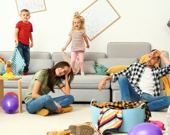 Kids restless?Fun At Home Fundana! Stuck indoors? Need ideas? This scavenger hunt game uses things in your house to keep kids busy.