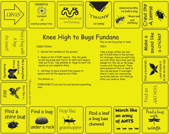Bugs! Fun game for kids 3-6 to learn about insects in a fun way. Great for kids, parents, grandparents, daisy scouts, camps and more!