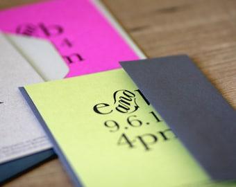 Printable / Storybook Romance Wedding Invitation Card (DIY)