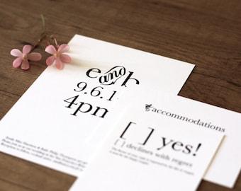 Printable / Storybook Romance Essentials Wedding Invitation Kit (DIY)