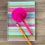 Fur ball Pompom Pen . Guestbook Pen . Wedding Favor . Party Favor . Furball Pen . Planner Pen