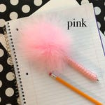 Fluffy Feather Pen