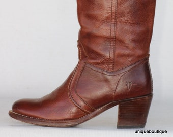 0410631aa8b8 Beautiful Frye leather Campus riding boots 7.5 B