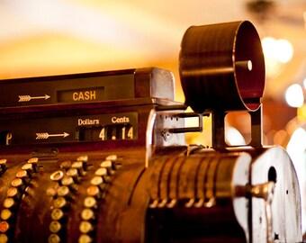 Vintage Cash Register - Fine Art Photography 15x10