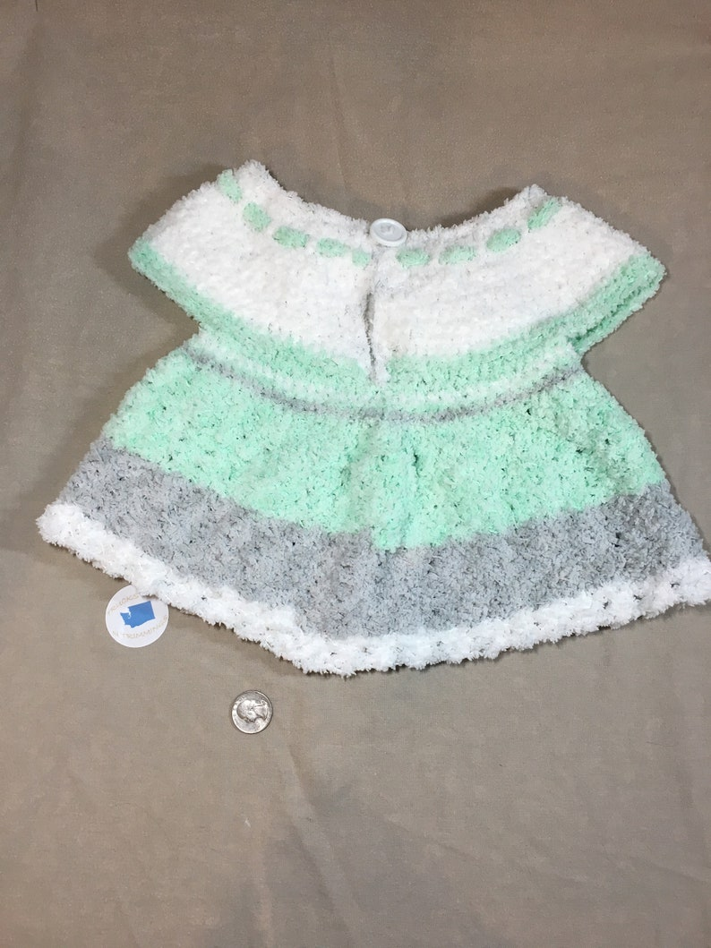 Lovely baby clothes girl crochet baby dress baby girl sweater 1 year old birthday gift baby tunic