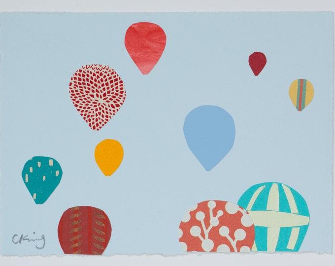Sunny Hot Air Balloons I
