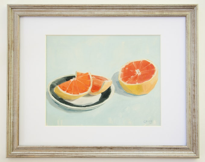 Grapefruit Breakfast Limited Edition Signed Print