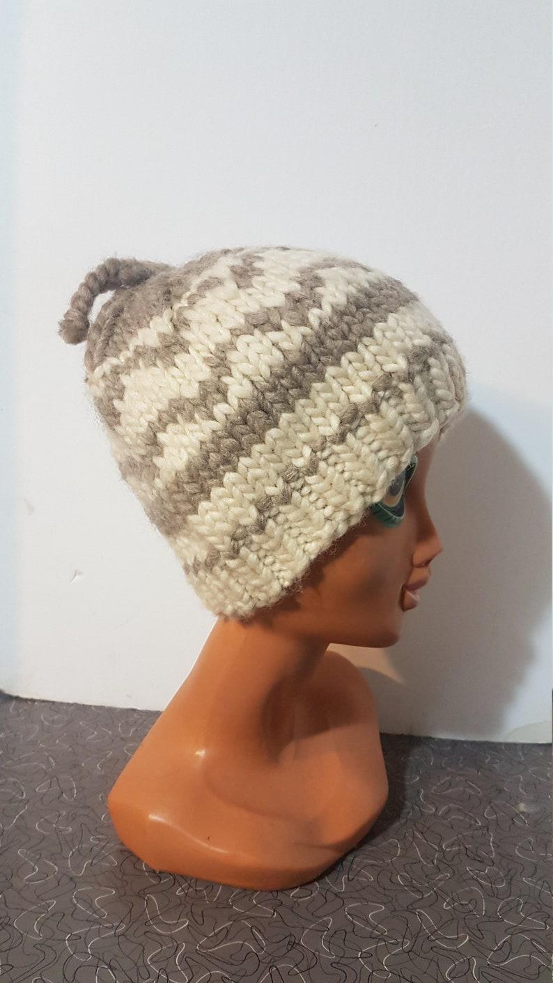 1fa7f22f273 Vintage Cowichan Sweater Hat Winter Hat