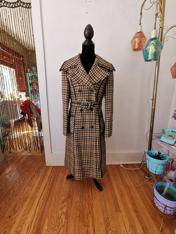 Vintage Wool Princess Coat
