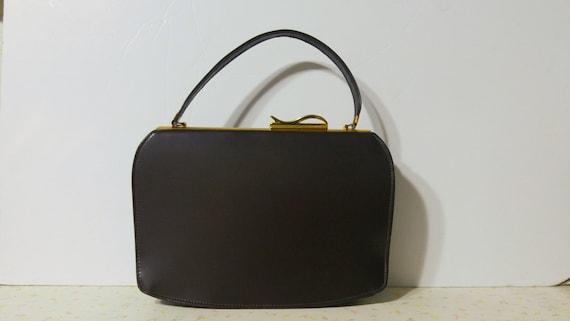 Mod Handbag Mid Century Modern 1950's Handbag Mid
