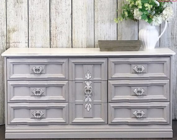 Gray Mist - Rethunk Junk by Laura, water based paint for cabinets, walls, furniture, metal, and even outside doors!