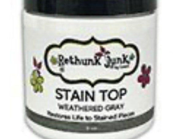 Weathered Gray Stain Top – 8 ounce.