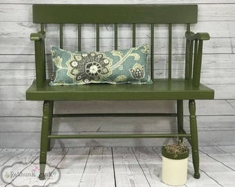 Color - English Ivy   Rethunk Junk by Laura, water based paint for cabinets, walls, furniture, metal, and even outside doors!