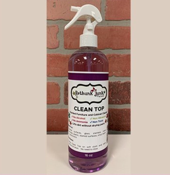 Clean Top - No ammonia, no alcohol, non abrasive, non toxic cleaner. Perfect for painted surfaces. Lifts dirt without drying paint.