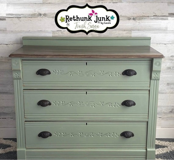 Fresh Sage - Rethunk Junk by Laura Resin Paint