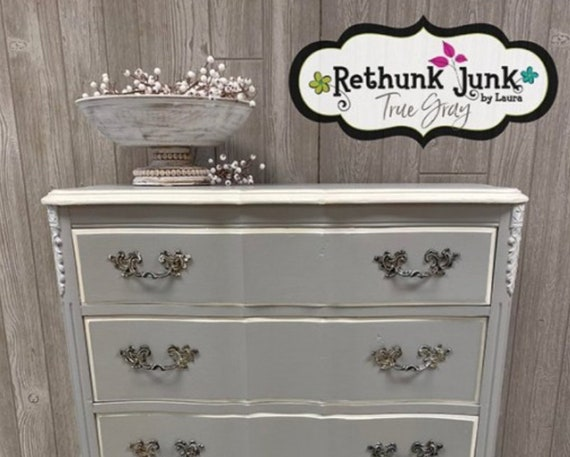 True Gray Paint by Rethunk Junk by Laura - Mid-Gray Range Resin Paint
