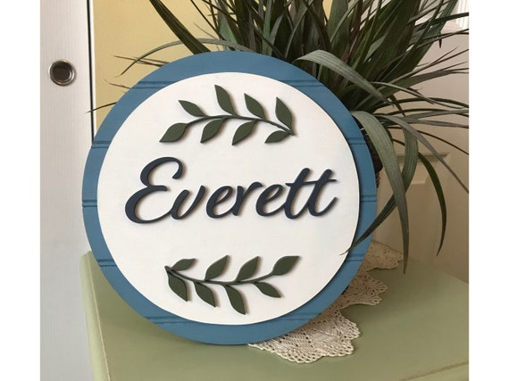 Custom Name Signs