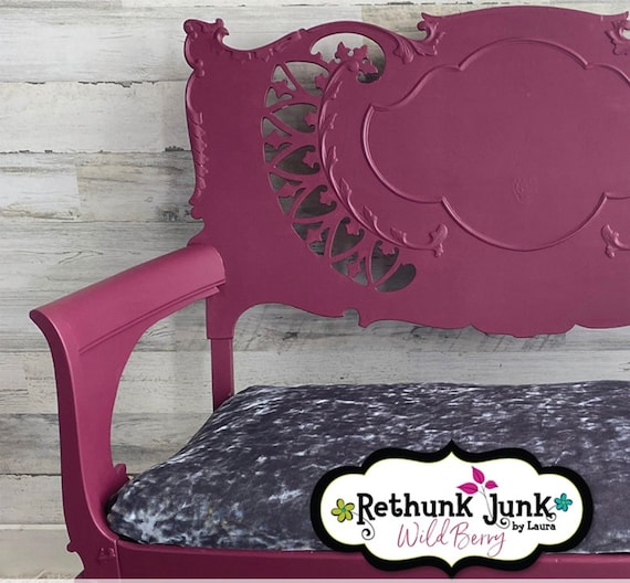 Wild Berry - Paint by Rethunk Junk by Laura.