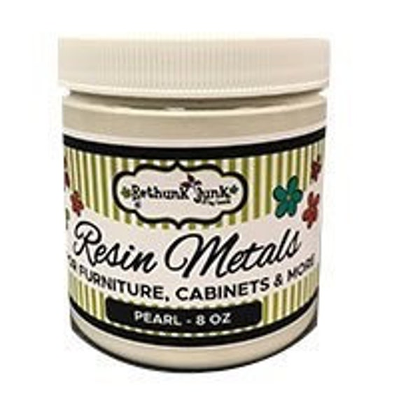 Paint by Rethunk Junk.  Paint Color - Metallic Pearl