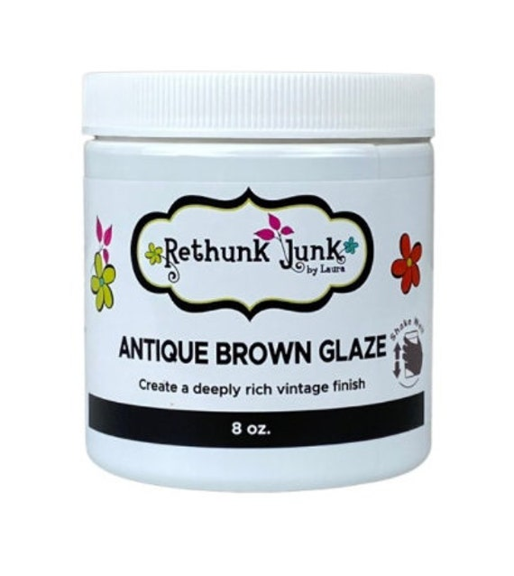 Antique Brown Glaze by Rethunk Junk by Laura. Formally Dark Glaze