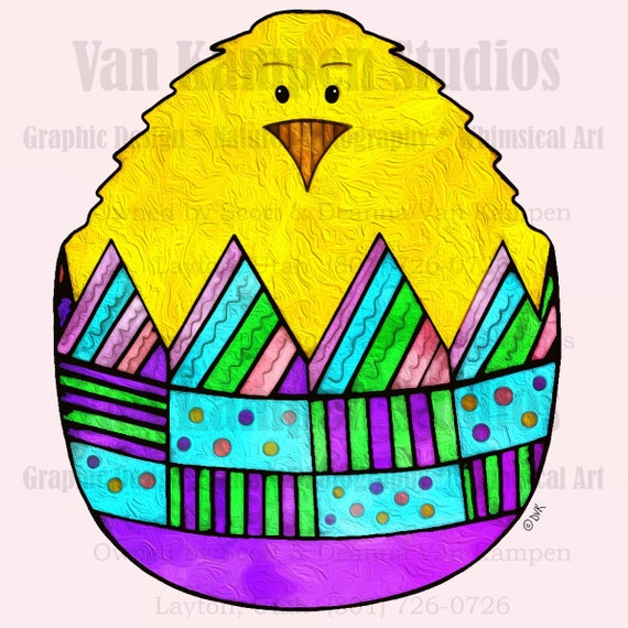 Easter Clip Art, Egg Clip Art, Chick Clip Art, Easter Card Making Clip Art, Chick, Chicken, Easter, Egg
