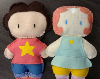 Felt Steven Universe Plushies Made to Order