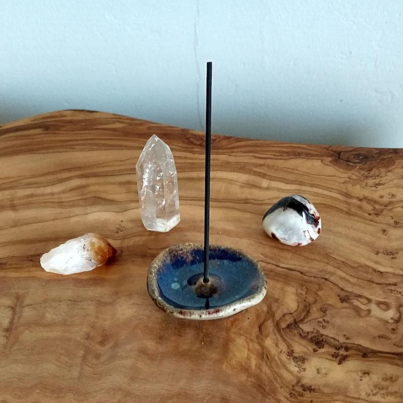 Handmade Rustic Ceramic Stick Incense Holder