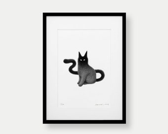 Kitty No.30 – A3 Limited Edition Print