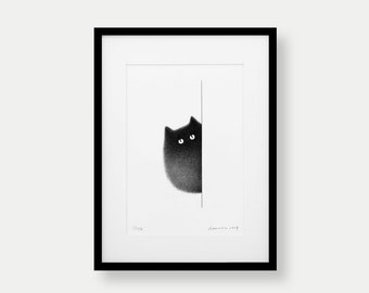 Kitty No.50 – A3 Limited Edition Print