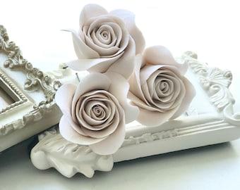 Bridal Hair Pins, Bridal Headpiece, Bridal Hair Piece, Bridal Hair Accessories, Wedding Hair Accessories, Hair Pins With Roses, Bridal Pins