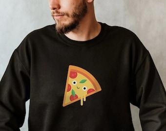 Pizza Sweatshirt, Pizza Lover Sweatshirt, Pizza Gift, Pizza Lovers Gift, Men's sweatshirt, sweatshirt for Dad, Funny Foodie Sweatshirt