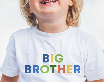 Big Brother Little Brother Matching Outfits, Big Brother Little Brother Shirts Set, Pregnancy announcement boy, Big Brother Shirts, Sibling
