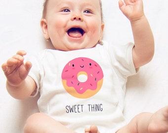 Donut Onesie, Funny Baby Romper, Funny Onesie, Baby Shower Gift, Funny Baby Onesie, Baby Boy Onesie, Baby Girl Onesie, Funny, Baby Bodysuit