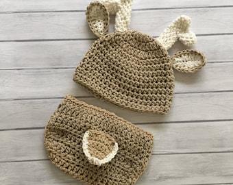 5e0d94ca8 Crochet deer hat | Etsy