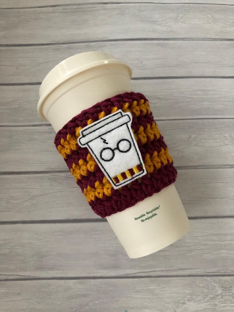 Wizard Cup Cozy Cup Cozy Crochet Cup Cozy Coffee Cozy Etsy