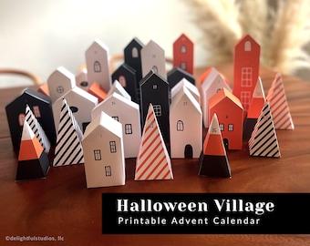 Halloween Countdown Advent Calendar
