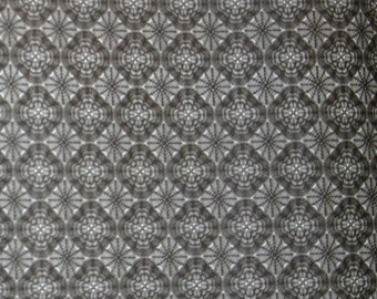 Jeanne d'Arc Living Dark Taupe/Cocoa Geometric Wallpaper Remnant
