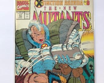New Mutants 97 (Rob Liefeld / X-Tinction Agenda Part 8 / 1991 / NM) / Comic Book / X-Men