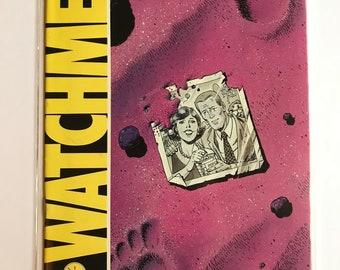 Watchman #4 (First Print, 1986, VF/NM, Alan Moore)
