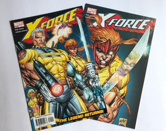 X-force 1 and 2 by Rob Liefeld (Marvel Comics, Near Mint, Deadpool 2 2018)