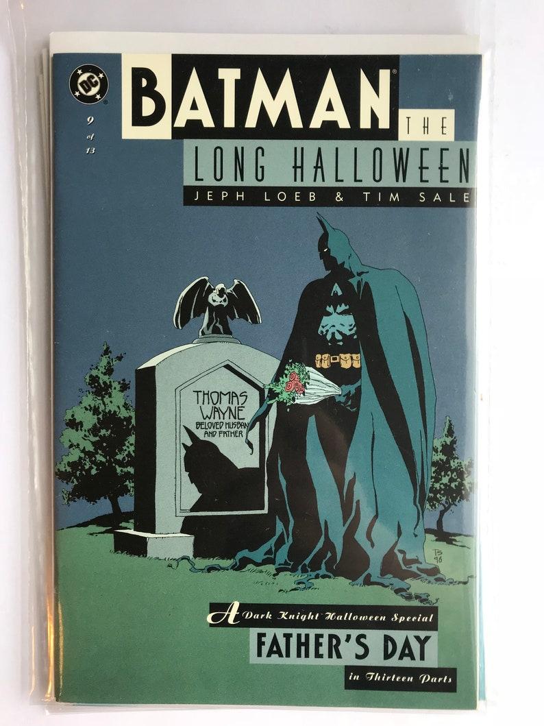 Awesome Batman   The Long Halloween #9 (1997, VF/NM, DC Comics)