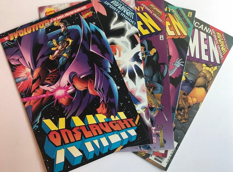 Onslaught Comic Lot - X-men Onslaught 1 (Marvel Comics, VF/NM Condition,  Uncanny X-men/X-men, 1993)