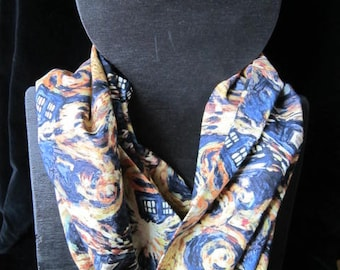 Doctor Who Exploding TARDIS Infinity Scarf