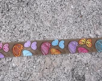 "7/8"" Butterflies Ribbon - 3 Yards"