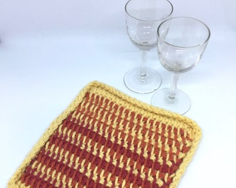 Handmade, crocheted, dishcloths, 100% cotton, Eco-Friendly