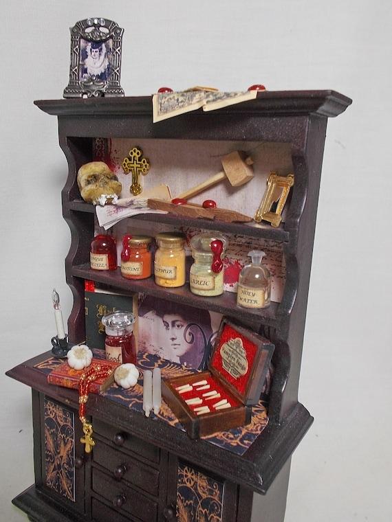 Casa de muñecas en miniatura de pintura enmarcada Harry Potter D4